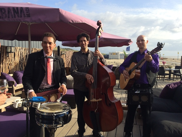 live muziek op terras