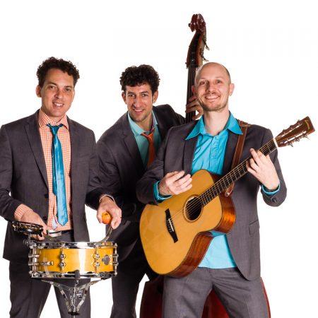 Akoestisch trio Moon About (Edwin van Wijk)